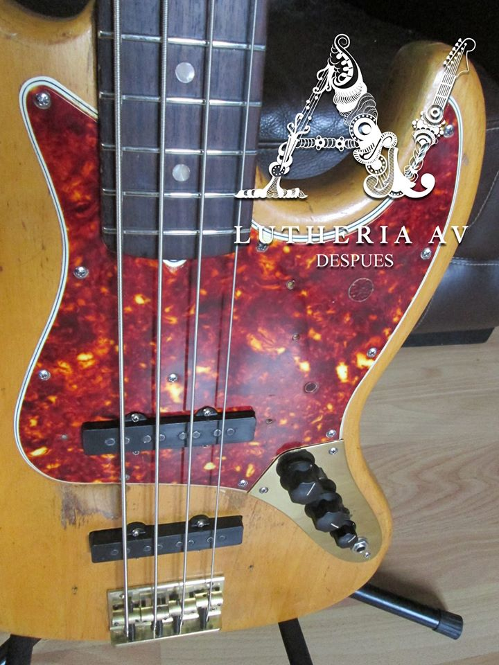 fender jazz bass standard 1965