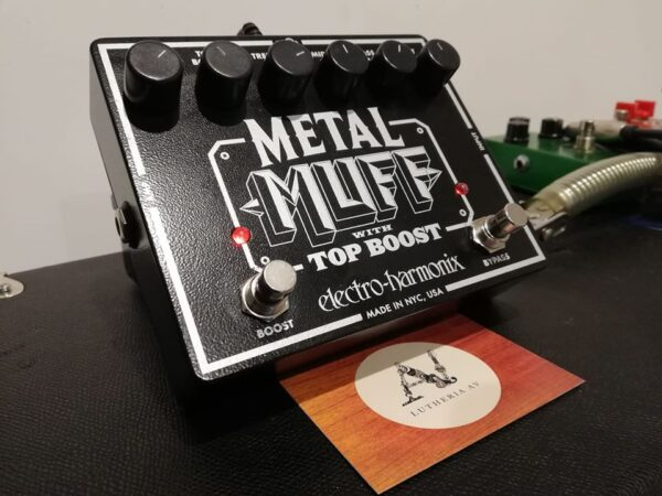 EHX METAL MUFF - AV CUSTOM BOUTIQUE MODS